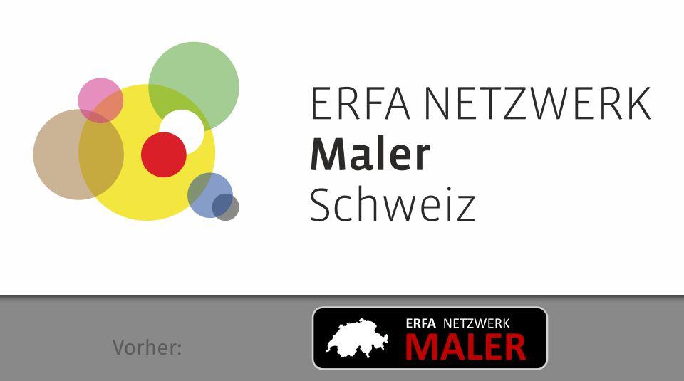 ERFA Netzwerk Maler Schweiz, Logo-Redesign